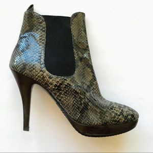Michael Kors Snakeskin Boots, 8